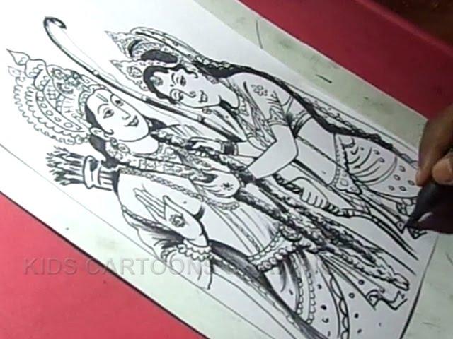 Lord-sri-rama-navami-greeting