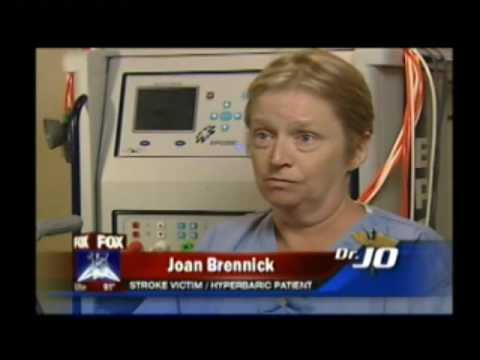 Stroke patient responds to Hyperbaric Oxygen Therapy