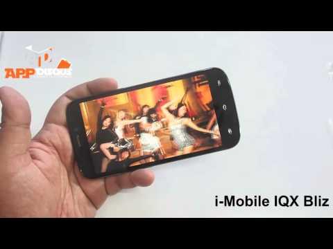 Appdisqus Review : รีวิว i-mobile IQX BLIZ  (เครื่องขายไทย)