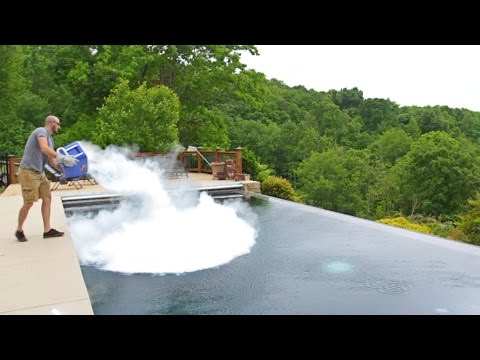 What Happens When You Drop Dry Ice Into A Swimming