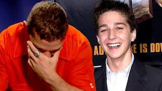Shia LaBeouf Emotionally REACTS to His First Interview (Exclusive)