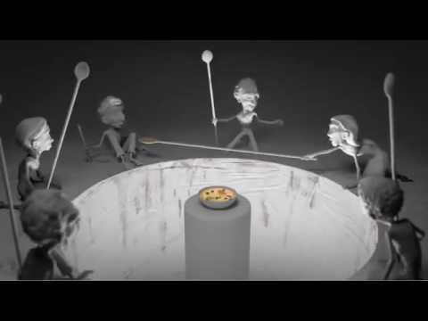 Пример современного общества(Мир эгоистов и бескорыстных людей) (видео)