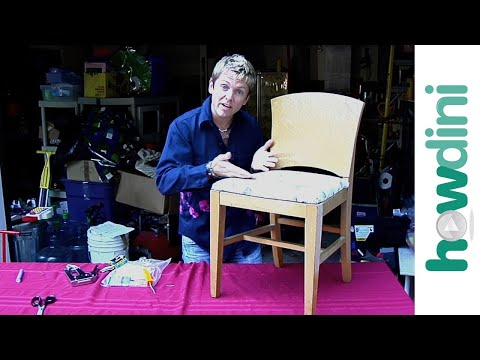 How to Upholster/Reupholster a Dining Room Chair