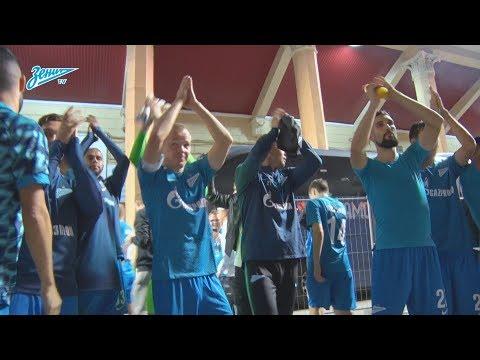 Скрытая камера «Зенит-ТВ»: последние минуты матча против «Динамо» (видео)