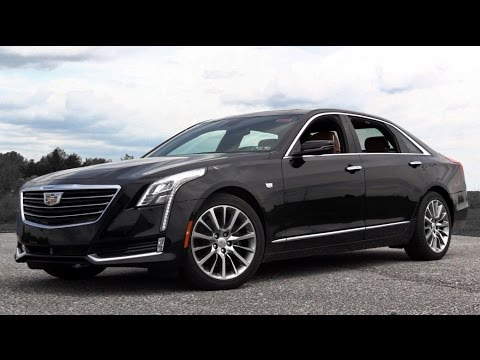 'Cadillac CT6 2016' super vetura luksoze (Video)