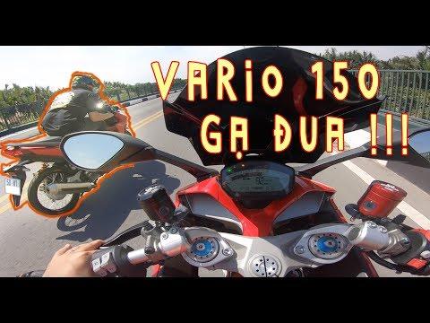 Vario 150 Drag Gạ Đua Với Nữ Rider Ducati Supersport - Thời lượng: 7 phút, 35 giây.