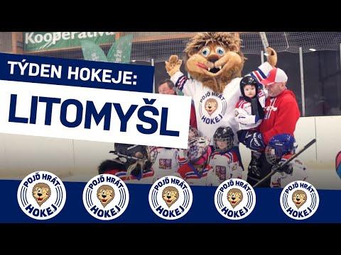 Ve východních Čechách má hokej silnou tradici. Jak vypadal Týden hokeje v Litomyšli?