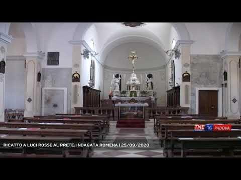 RICATTO A LUCI ROSSE AL PRETE: INDAGATA ROMENA | 25/09/2020