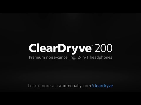 Rand McNally ClearDryve 200 Premium 2-in-1 Headset