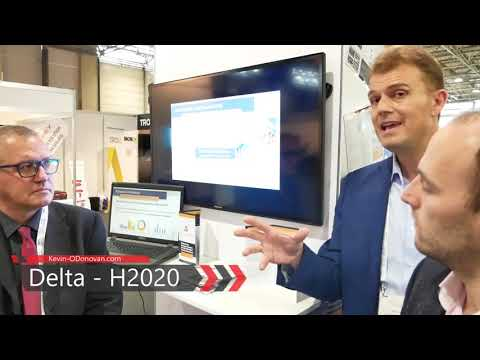 A chat with the DELTA Team .. an EU Horizon 2020 Project ... #EUW18