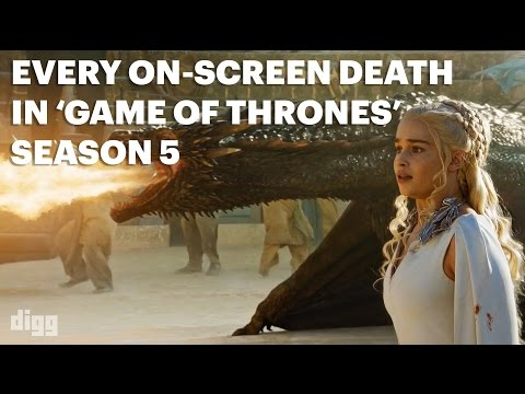 Every OnScreen Death In Game Of Thrones  Season