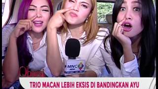 Download Video Pasca Video Sindiran, Ayu Ting Ting Dikabarkan Terlibat Persaingan Dengan Trio Macan - Obsesi 26/04 MP3 3GP MP4