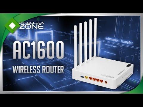 รีวิว TOTOLINK A5004NS : AC1600 Wireless Router