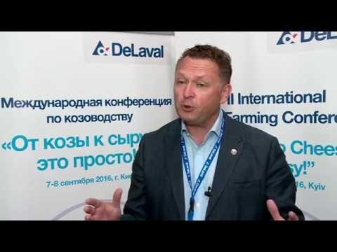 Юрий Гринченко на II Международной конференции по козоводству в Киеве