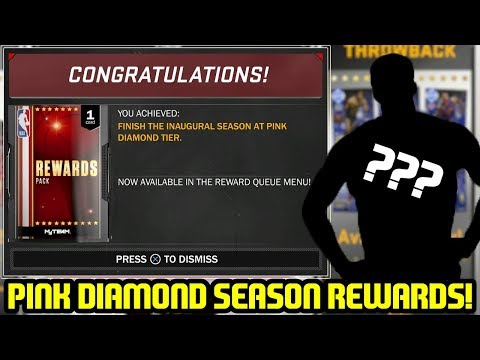 PINK DIAMOND SEASON SUPERMAX REWARDS! WE GOT BAMBOOZLED?? NBA 2K18 MYTEAM
