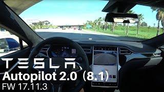 TESLA Autopilot 2.0 (8.1) - FW 17.11.3