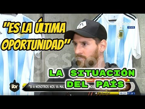 "Messi: ""Espero que el fútbol me pague su deuda"" (VIDEO)"