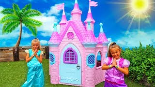Las Ratitas Pretend Play with baby dolls Shimmer and Shine