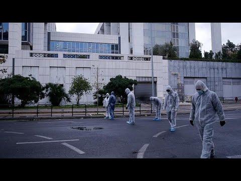 Ισχυρή έκρηξη και πυροβολισμοί στο Εφετείο Αθηνών