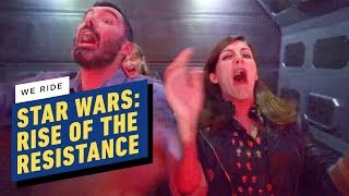 We Rode Star Wars: Rise of the Resistance at Galaxy's Edge by IGN