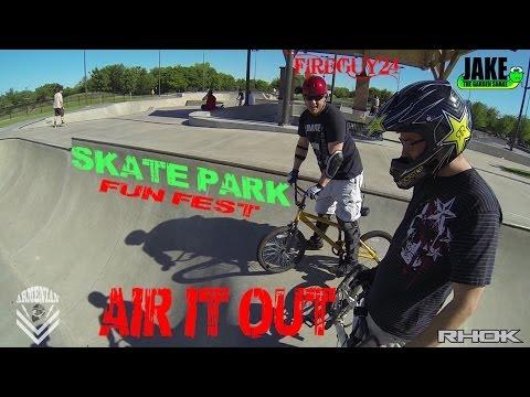 Skate Park Fun Fest: AIR IT OUT!!