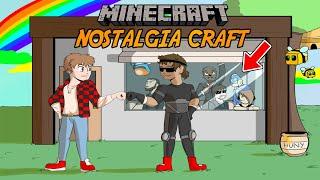 Nostalgia Craft #2 w/Bajan Canadian ft. HuskyMudkipz (Team Crafted Reunion, Filming LA Lights, etc.)