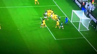 Mexicos disallowed goal against Cameroon. Giovani Dos Santos got robbed in scandal in FIFA world cup 2014.