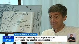 Telejornal - RTP (30-06-2019) - Dependência-Internet