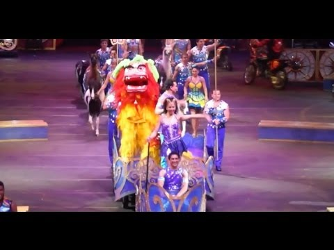 ringling - The full opening of the Ringling Bros. and Barnum & Bailey Circus show called Legends. Experience amazing performers from around the globe perform awe-inspir...