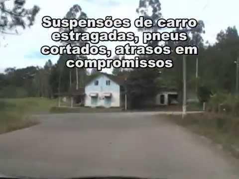 SC 423 - A pior rodovia de acesso em Santa Catarina