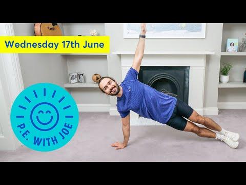 PE With Joe   Wednesday 17th June