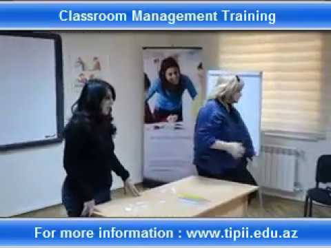 Classroom Management Training / December, 9-10, 2016