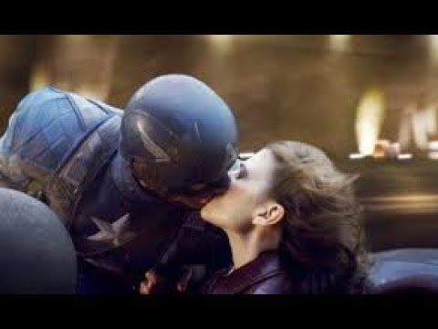 Captain America chasing Red Skull's Valkyrie.Kissing Scene.Captain America :The First Avenger