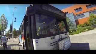 Tri-Met Line 88 Timelapse (Bus 2125)