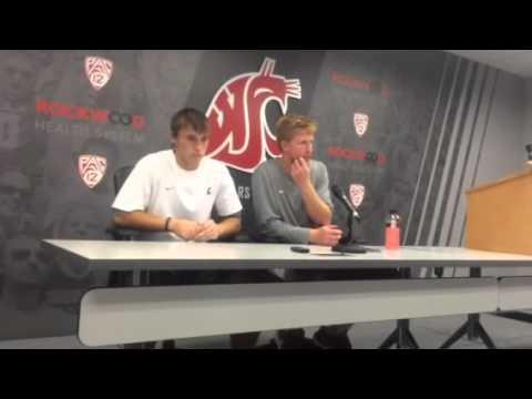 Connor Halliday Interview 9/13/2014 video.