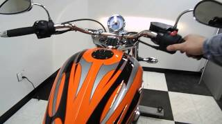 10. 2013 Victory Jackpot Orange - used motorcycle for sale - Eden Prairie, MN