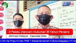 3 Pelaku Diancam Hukuman 15 Tahun Penjara (HARIANSIBER TV)