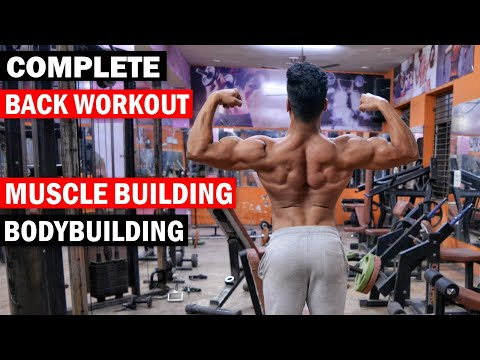 Fat burner - Complete Back Workout for Muscle Building  Bodybuilding Exercise & Tips