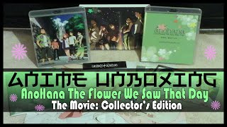 Nonton Anime Unboxing   Anohana  The Flower We Saw That Day  The Movie Dvd Blu Ray  Collector S Edition  Film Subtitle Indonesia Streaming Movie Download