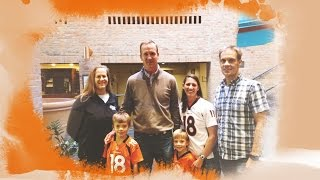 Peyton Manning's just an ordinary guy, as one visit with a family of Broncos fans shows by SB Nation