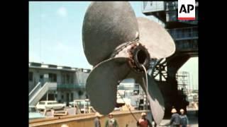 Download Lagu Queen Mary Ocean Liner - 1968 - NO SOUND Mp3