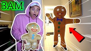 DO NOT MAKE EVIL GINGERBREAD MAN VOODOO DOLL AT 3AM (I DID THIS TO HIM)
