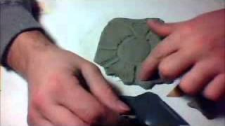 Tutorial iron man palm with clay
