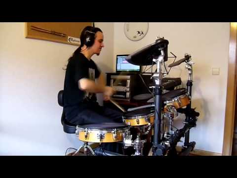 Edguy - All the clowns Drum cover (видео)