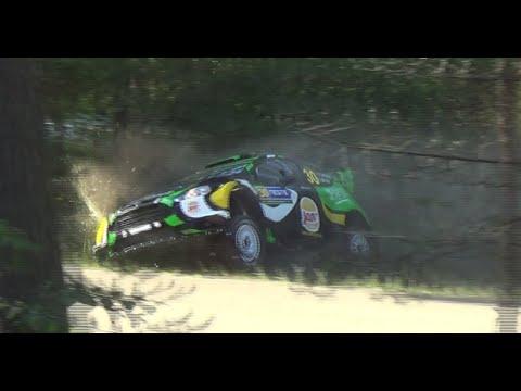 Neste Rally Finland Shakedown 2016 (crash & action)