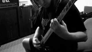 Video Secret Of Darkness - Neotericus Universum (studio report #2 Guit