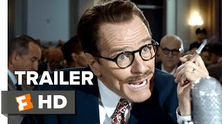 Trumbo Official Trailer  1  2015    Bryan Cranston  Diane Lane  Helen Mirren Biopic Hd