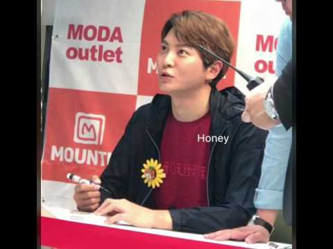 Joowon mountia fansign@moda outlet,suncheon 29april2017 (видео)