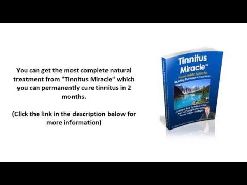 Tinnitus Treatment – The Permanent Cure