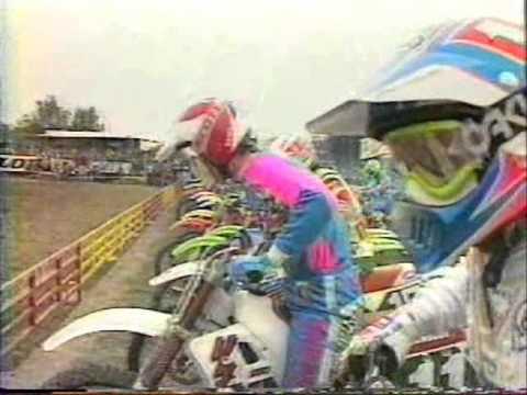Motocross international Beaucaire 1990 (Jeff Leisk)